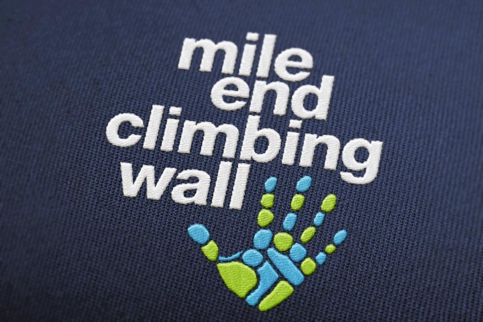 Mile End Climbing Wall — PGA Branding