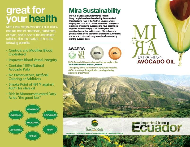 Brochure MIRA Avocado Oil (PART 1)