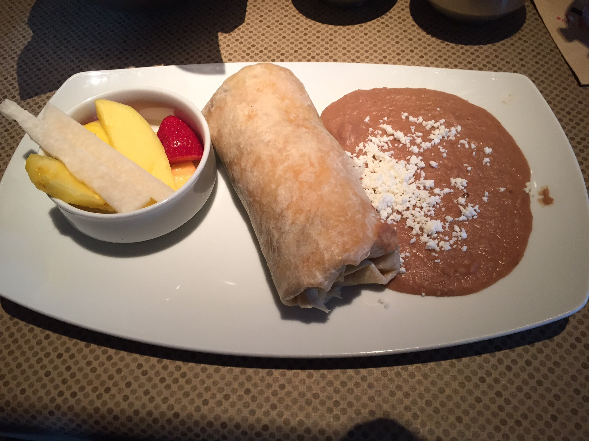 Breakfast Burrito with Chorizo
