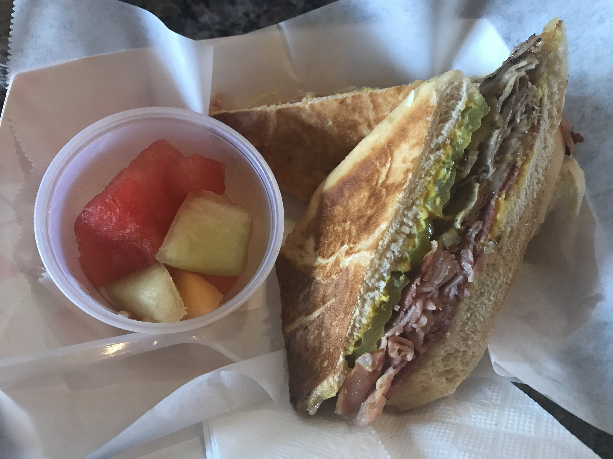 Mike's sandwich from Cafe Ybor
