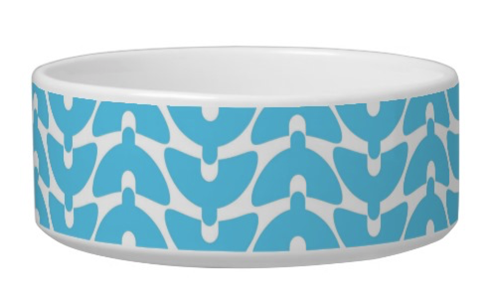 Mod Pet Bowl   Your dog's a design hound, isn't he?