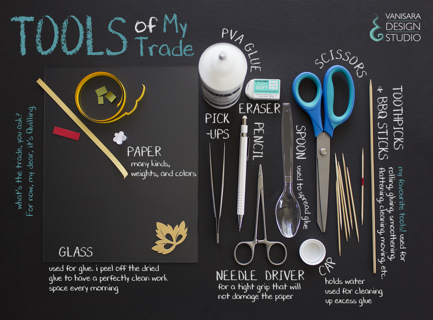 My Quilling Tools: Info Web Poster