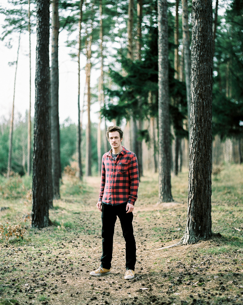 Martin  (here feeling awesome because he's being photographed on his favorite Pentax 67 and Kodak Portra 160;) More of my film work: martinslechta.com )