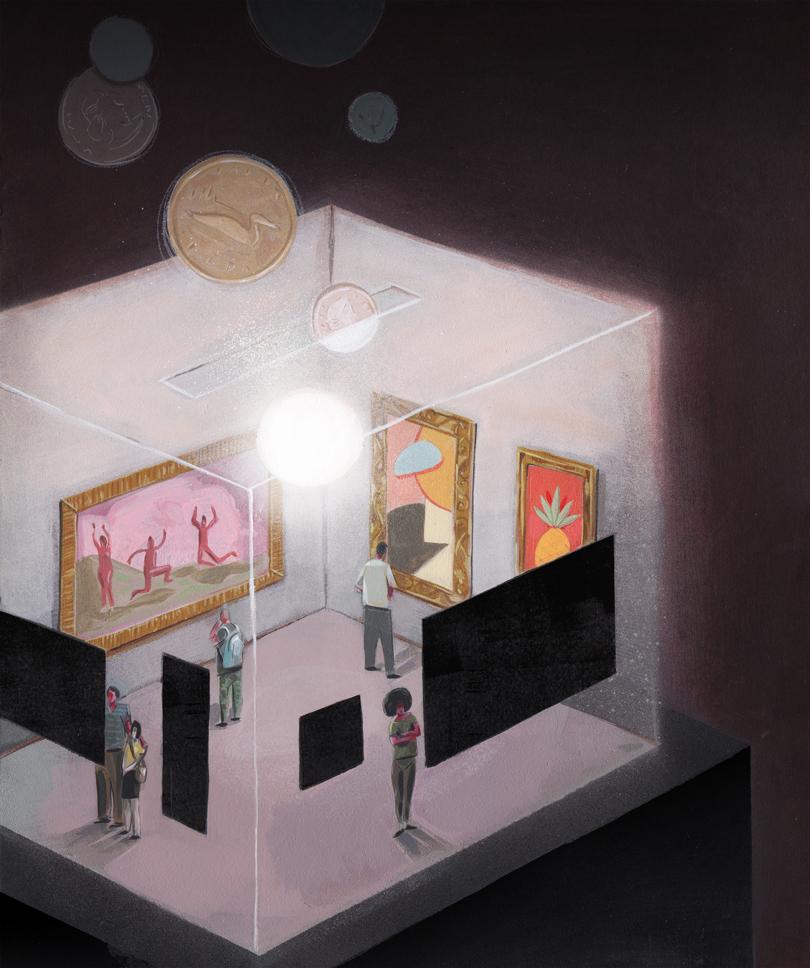 Client : Avenue Edmonton - October 2016     Art Direction: Pete Nguyen    'Whose Art is it Anyway?'