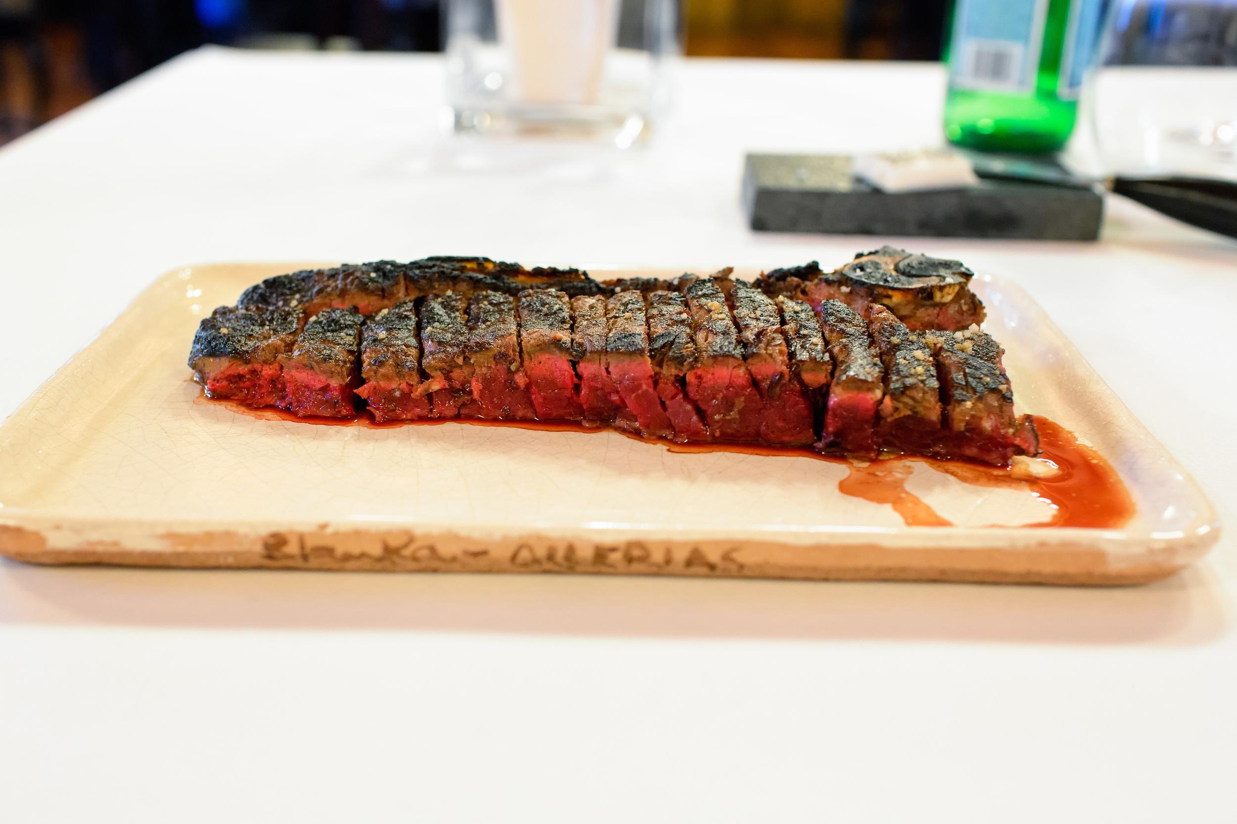 Beef Chop @ Asador Etxebarri (San Sebastian, Spain).