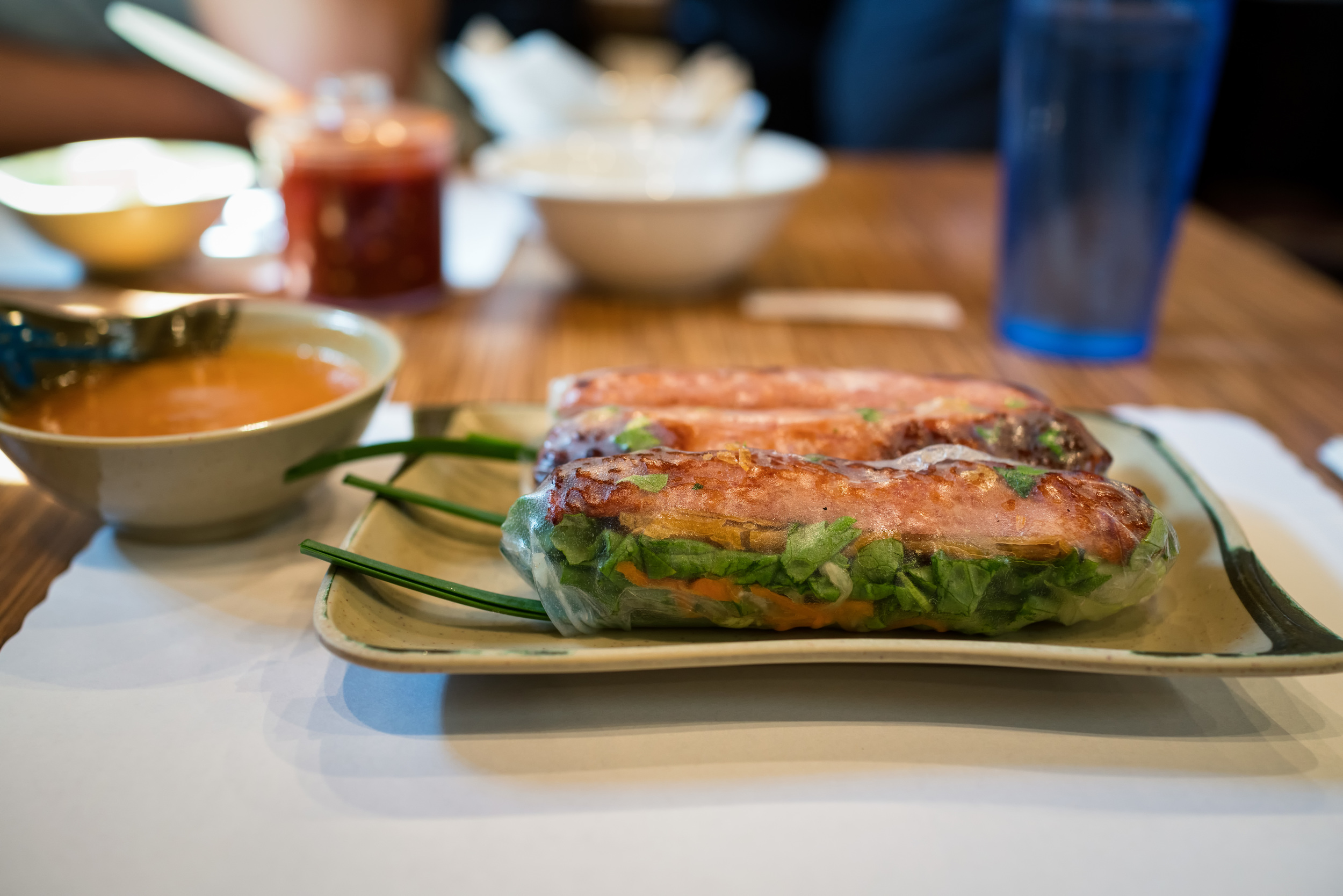 Incredible Vietnamese food can be found in Little Saigon (Brodard, in Westminster).