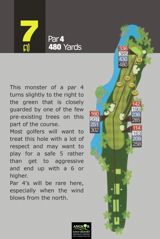 Hole 7 - Par 4 480 Yards