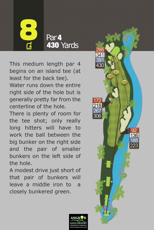 Hole 8 - Par 4 430 Yards