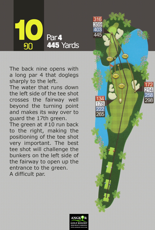 Hole 10 - Par 4 445 Yards