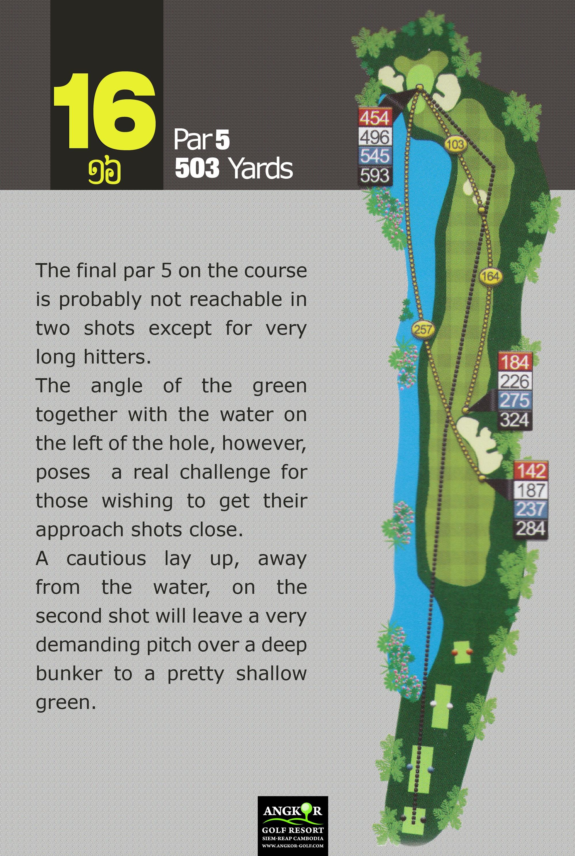 Hole 16 - Par 5 503 Yards
