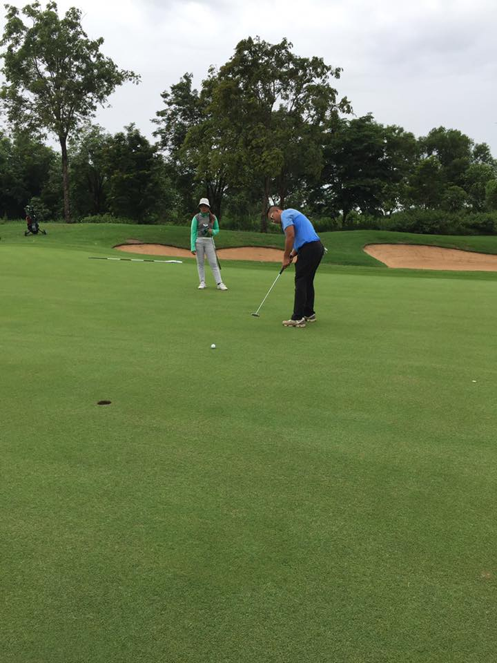 Putting green hole 3
