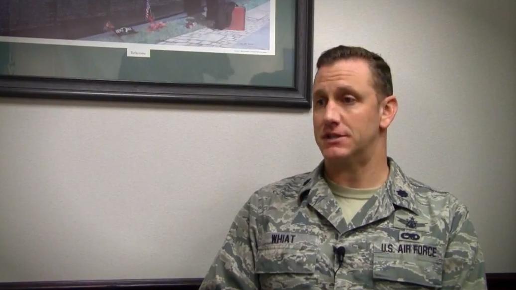 Matt Whiat - Airman, Air Mobility Command, USAF