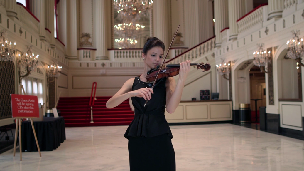 Erin Schreiber - StL Symphony Violinist