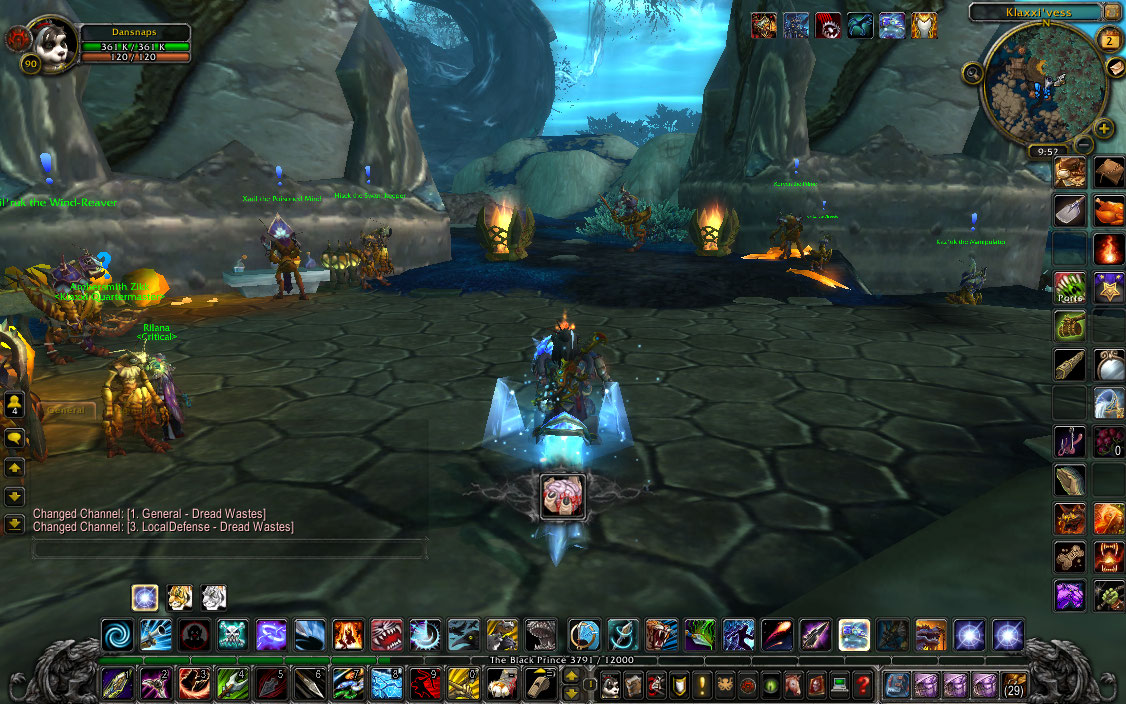 Screenshot from online role playing game World of Warcraft