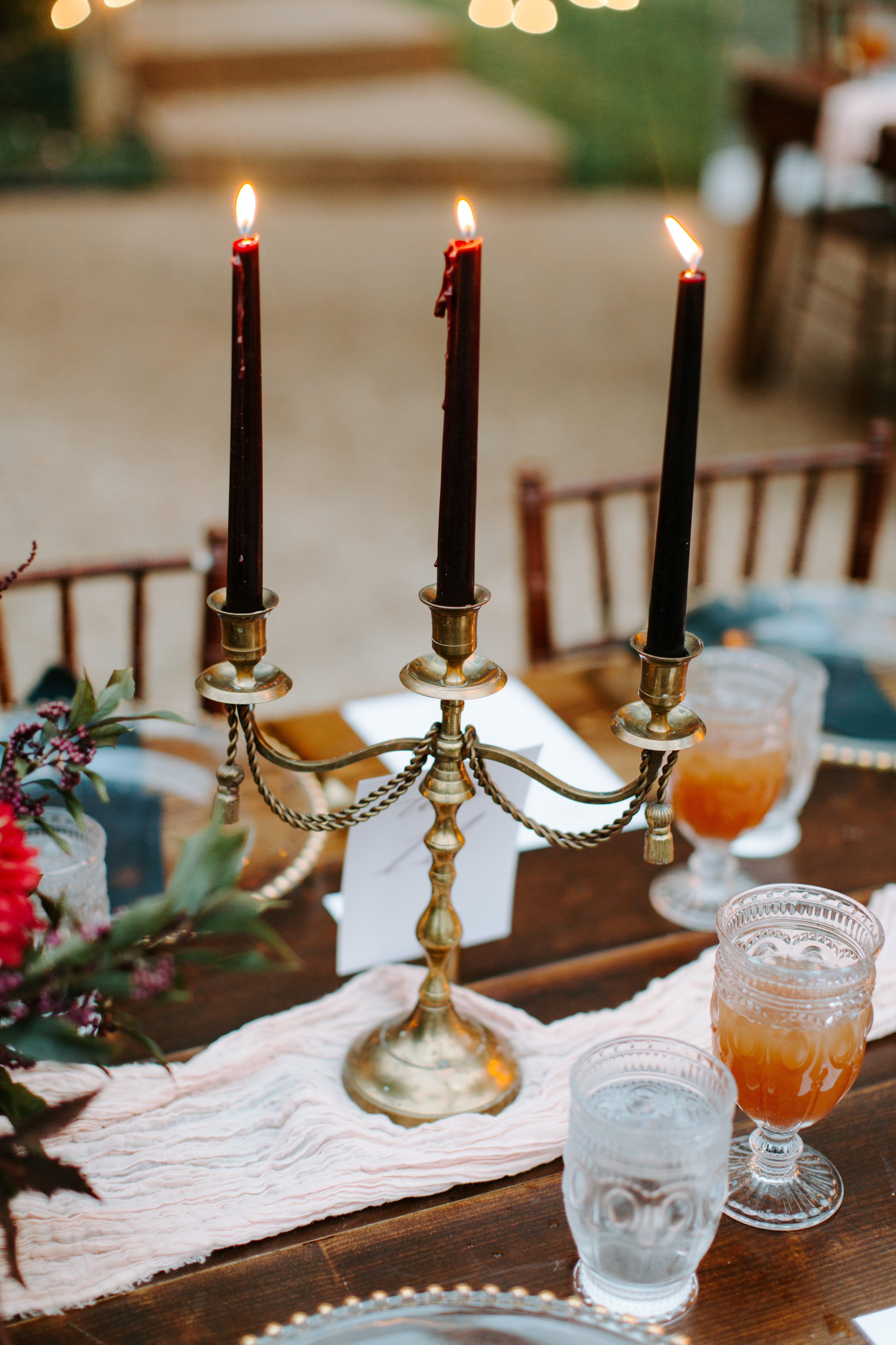 wedding candle stick