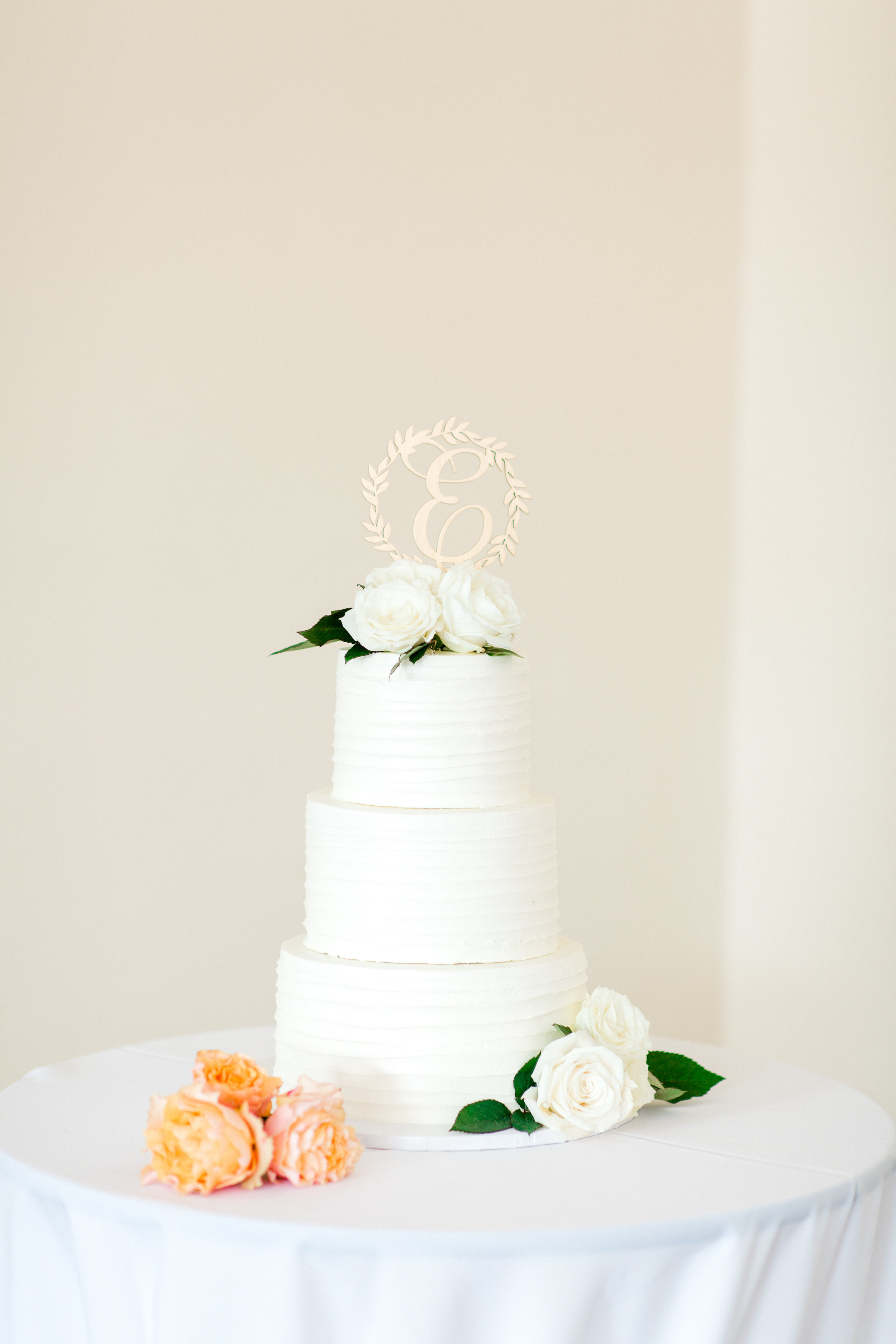 white cake by elise's pieces