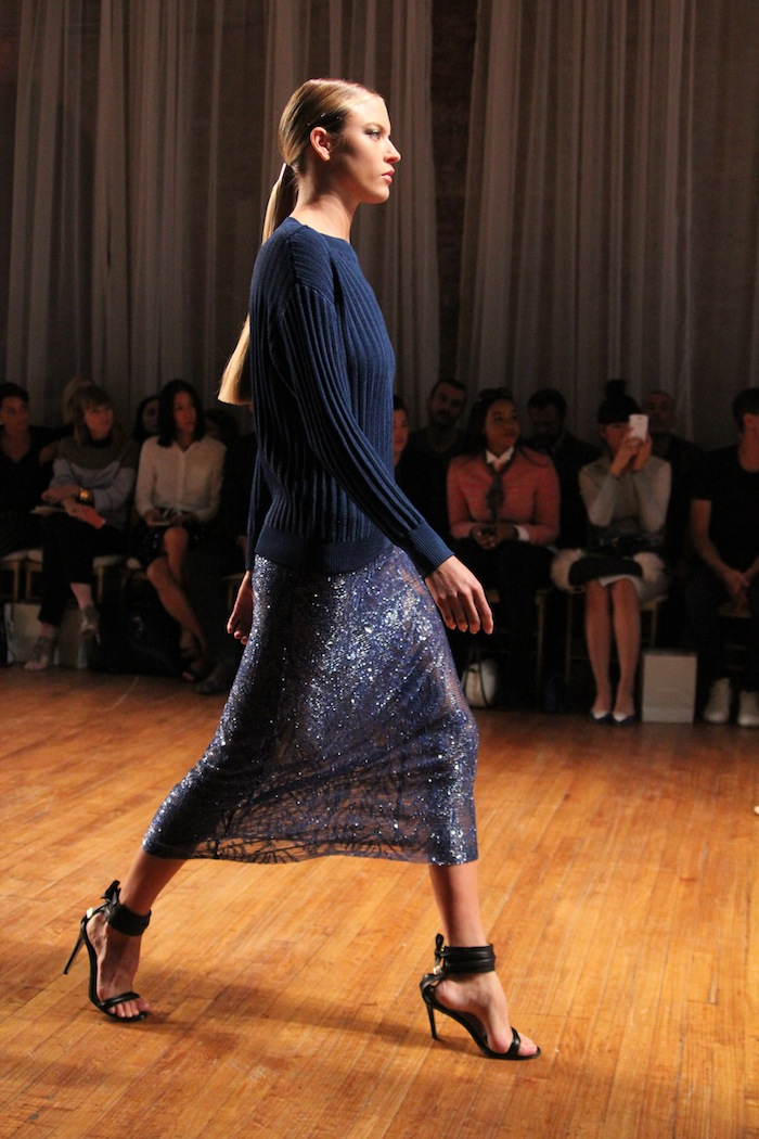 A look from Jason Wu Spring 2014, shown Friday in New York. Photo by Mary O'Regan for  Nordstrom.com .
