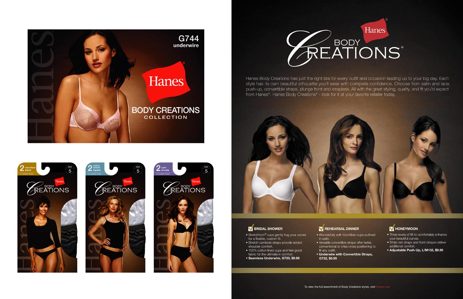 hanes: body creations