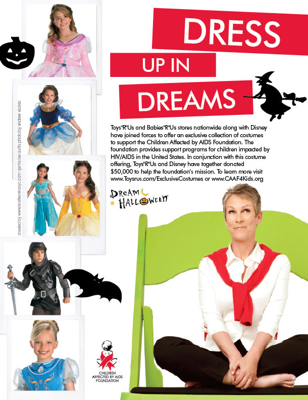 children affected by aids foundation: dream halloween print