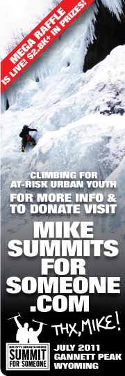 big city mountaineers | summit for someone 2011 | mike summits for someone | facebook profile picture promo