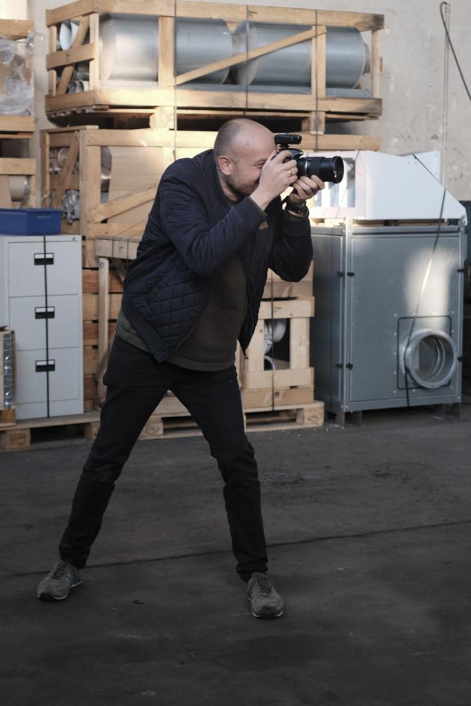 Jakob Vind fotograferer