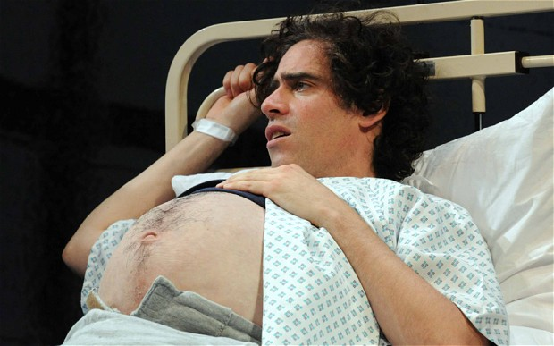 Stephen Mangan in  Birthday  at the Royal Court