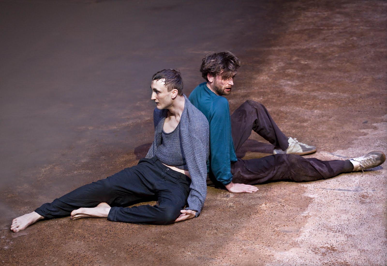 Tom Brooke and Jack Laskey cast ashore