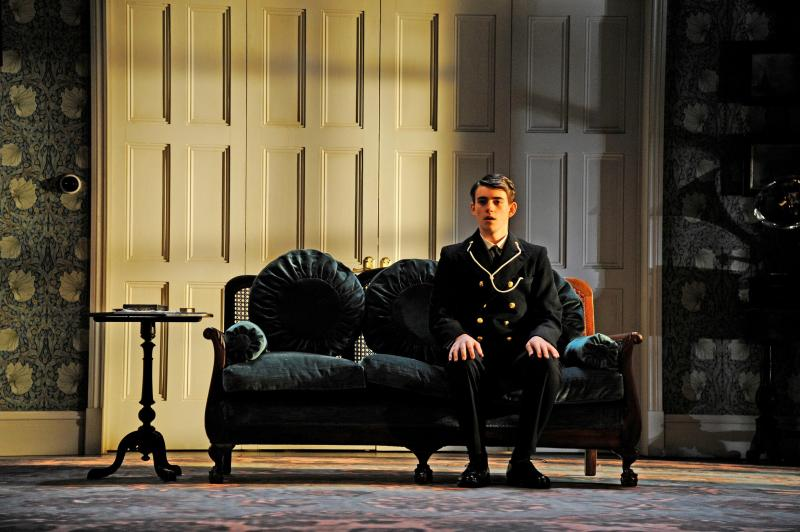 Charlie Rowe as Ronnie Winslow, unable to face his father. Photo: Nobby Clark