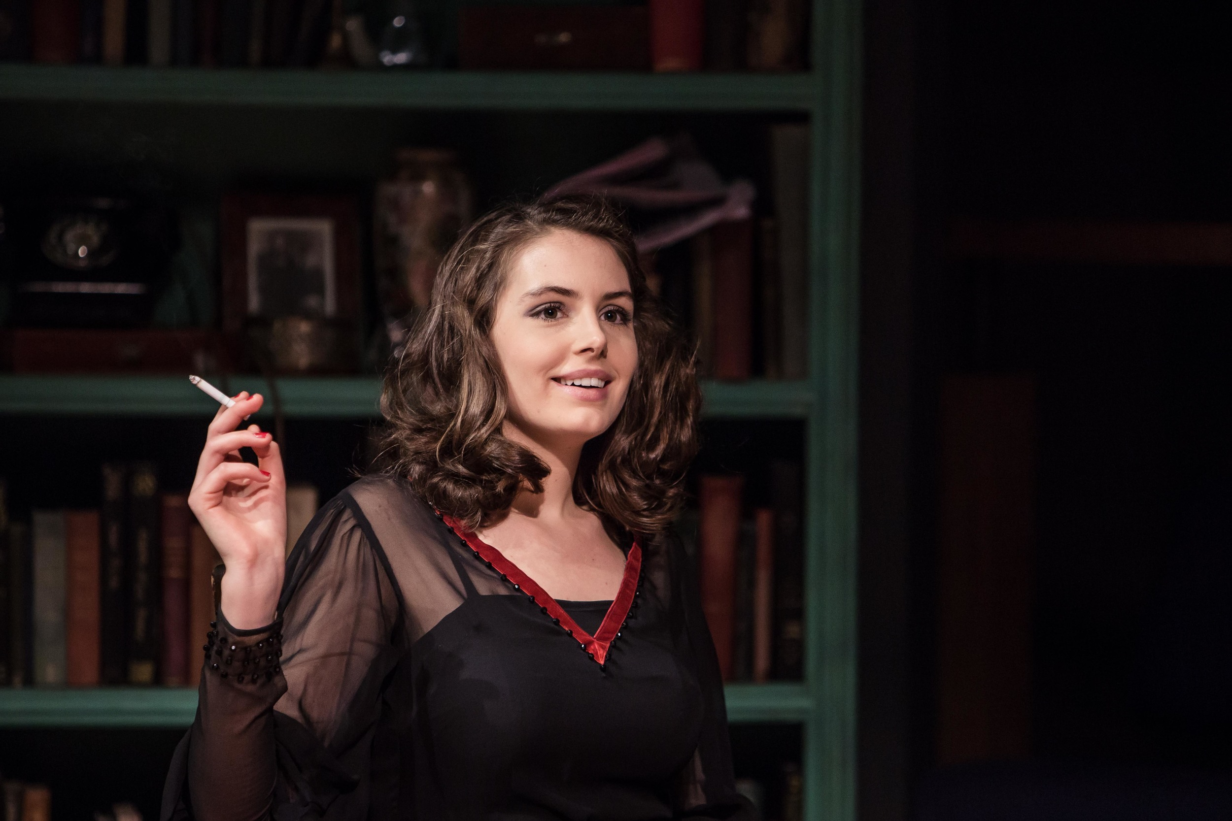 Genevieve Gaunt as Diana Lake in  French Without Tears  (Orange Tree). Photo © Richard Davenport