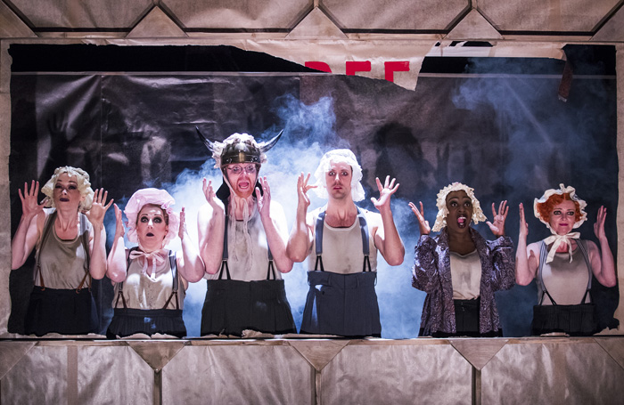 Threepenny Opera  (National Theatre, 2016). Photo: Tristram Kenton