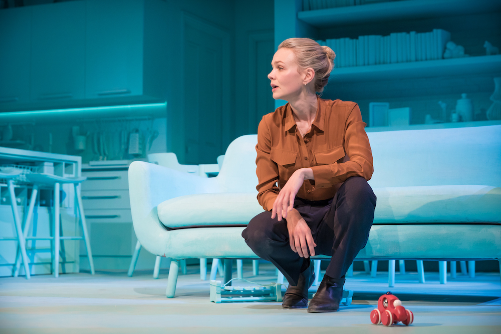 Carey Mulligan in Dennis Kelly's  Girls & Boys  (Royal Court, 2018). Photographer: Marc Brenner