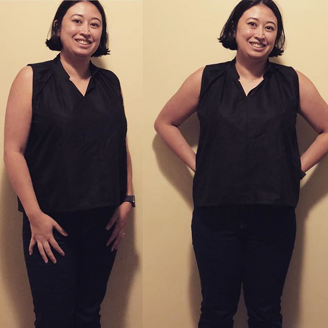 The first piece of my French capsule/travel wardrobe is complete! I made a wearable toile of the #sewliberated #matchatop and I even blogged about it! (Link in bio) #sewing #memadewardrobe