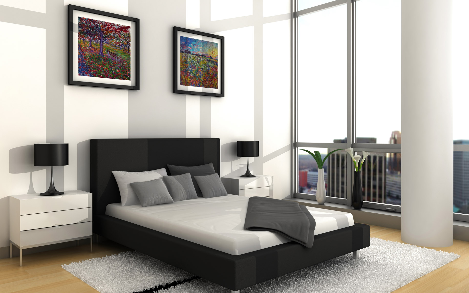 """It doesn't have to be """"over the top."""" Select a bed that fits your style and is comfortable. (Photo Credit: capcbc.org)"""