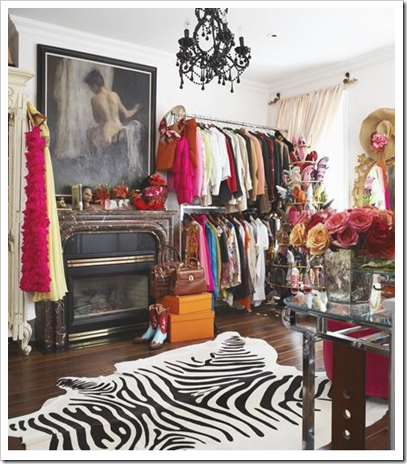 My kind of style! Eclectic, yet still appealing to the eye! (Photo Credit: Marcus Design Blogspot)