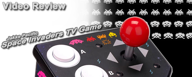 Space Invaders TV Game Review Header