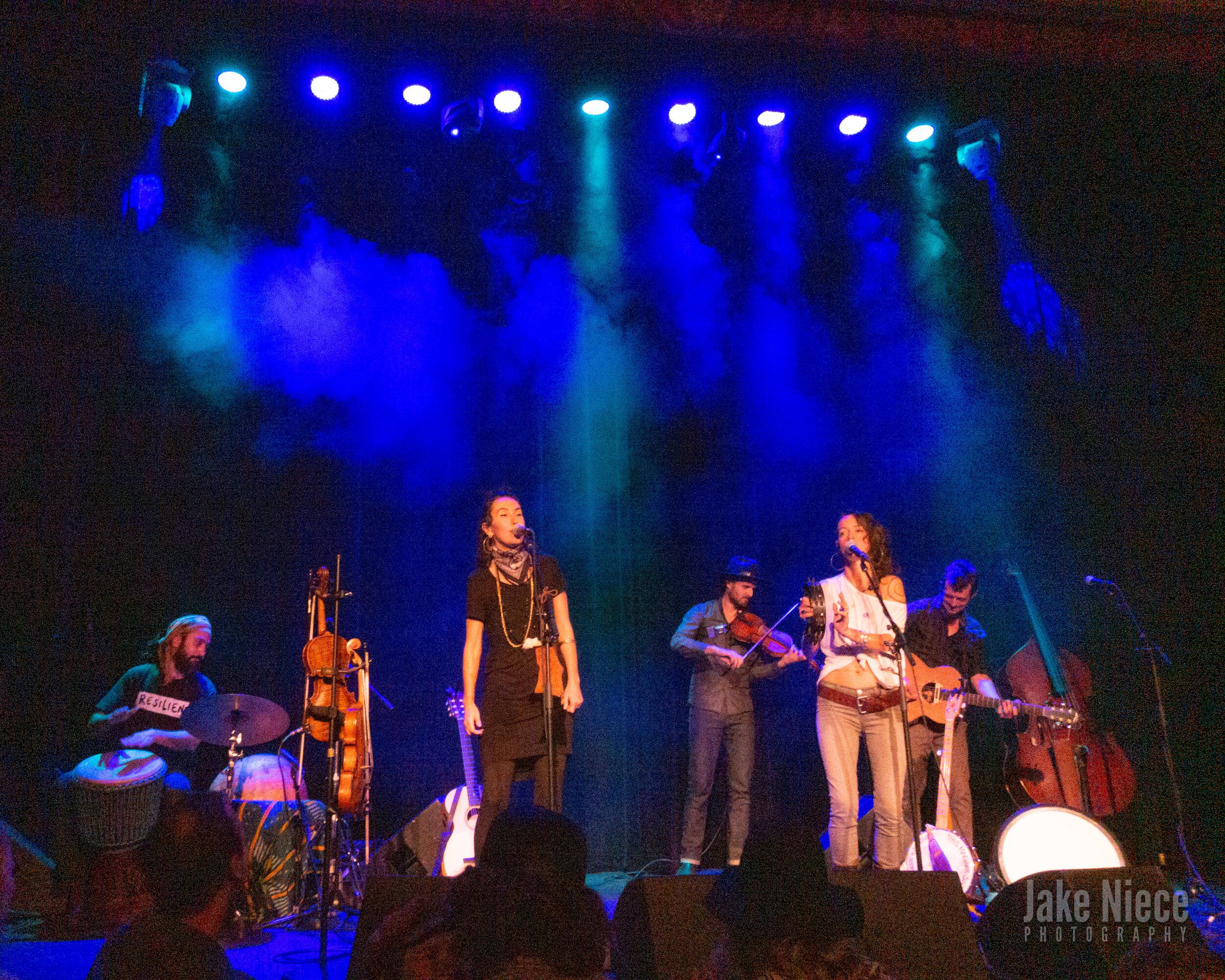 Rising Appalachia at the Sheridan Opera House in Telluride, Colo