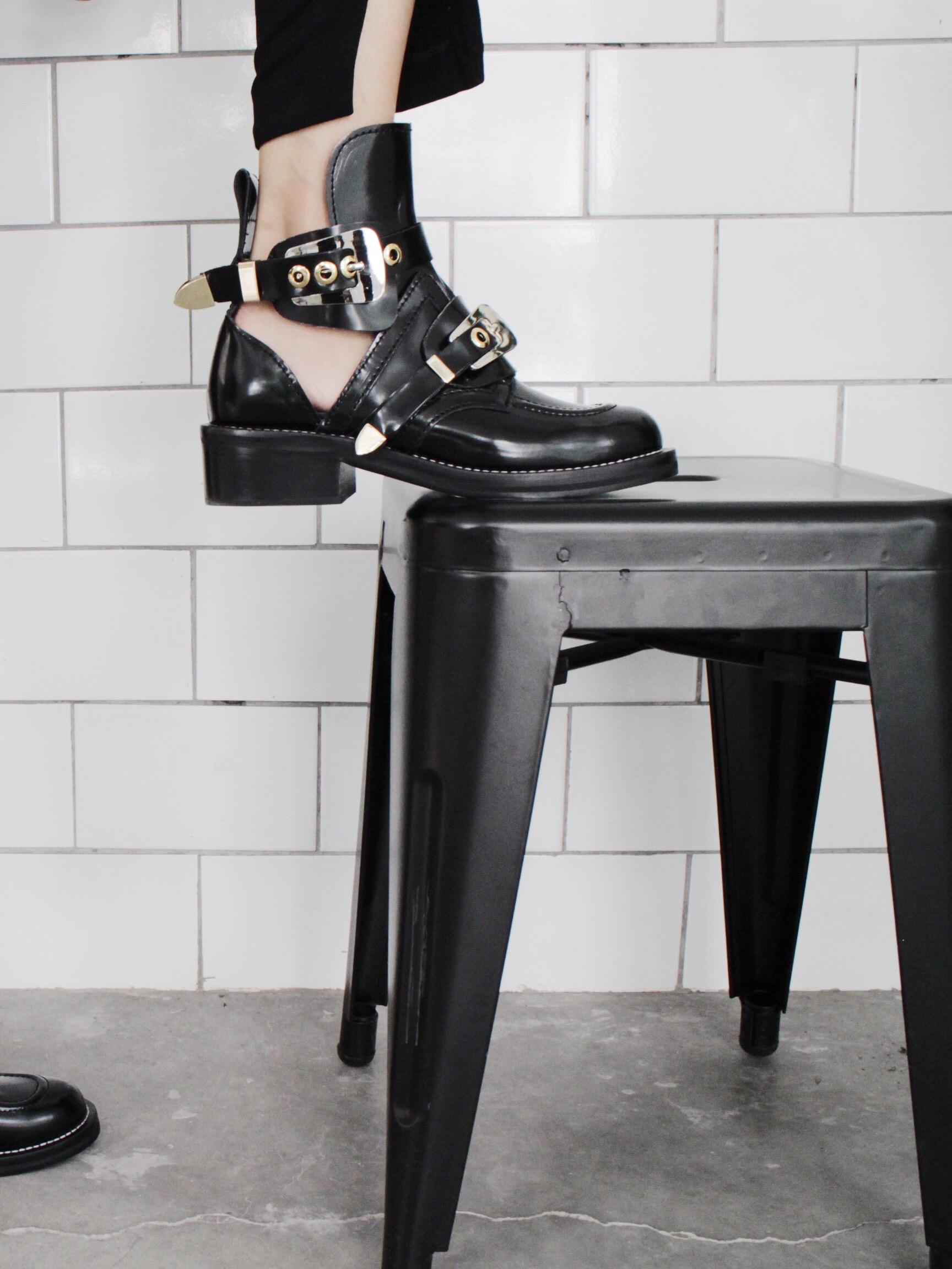 Balenciaga Cut Out Boots look-alikes