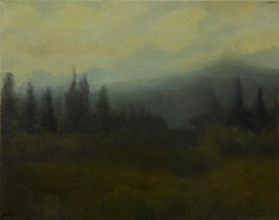oil on canvas. 16x 20