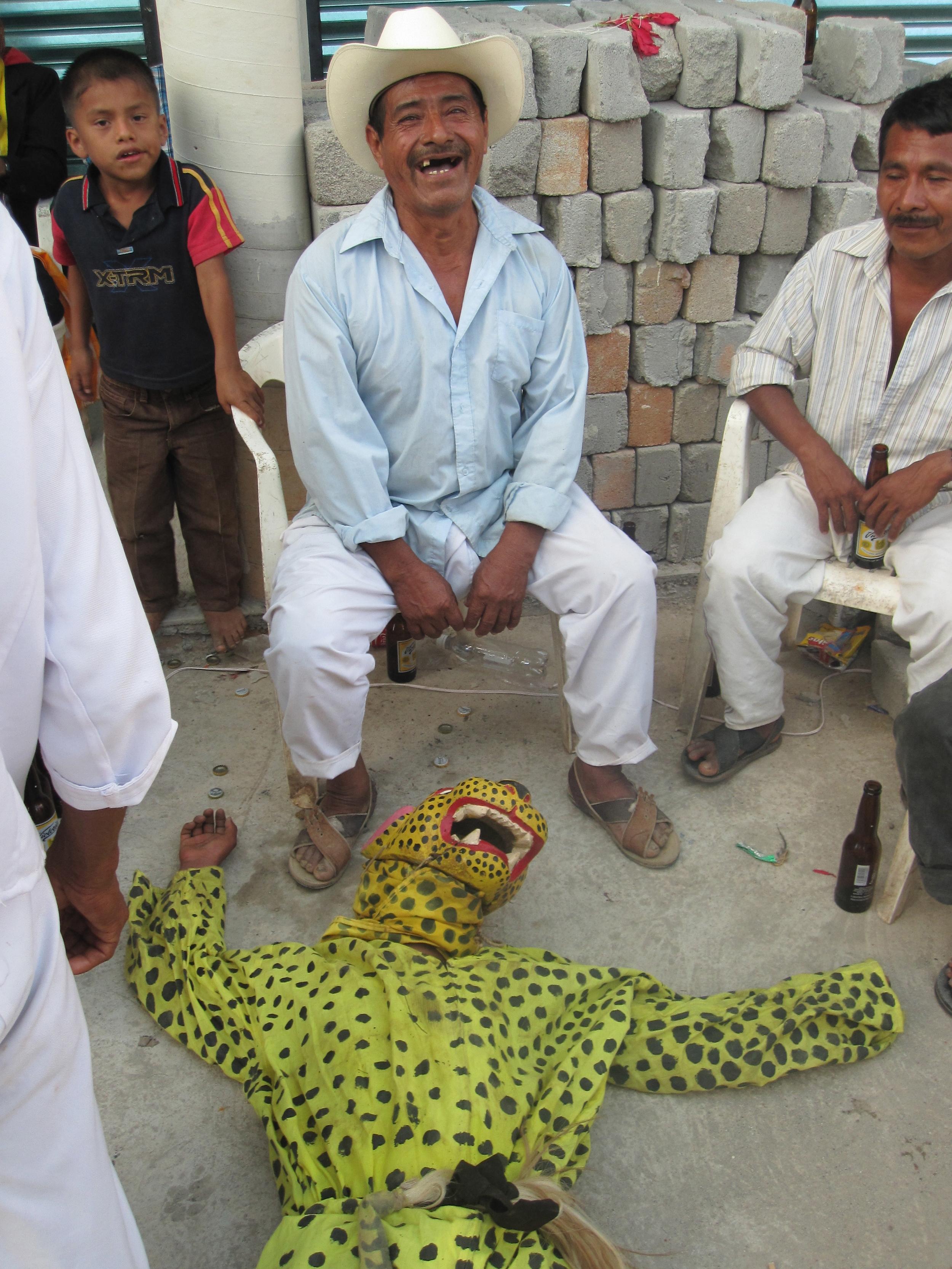 Tiger Dancer , Oaxaca - Rain, Fertility