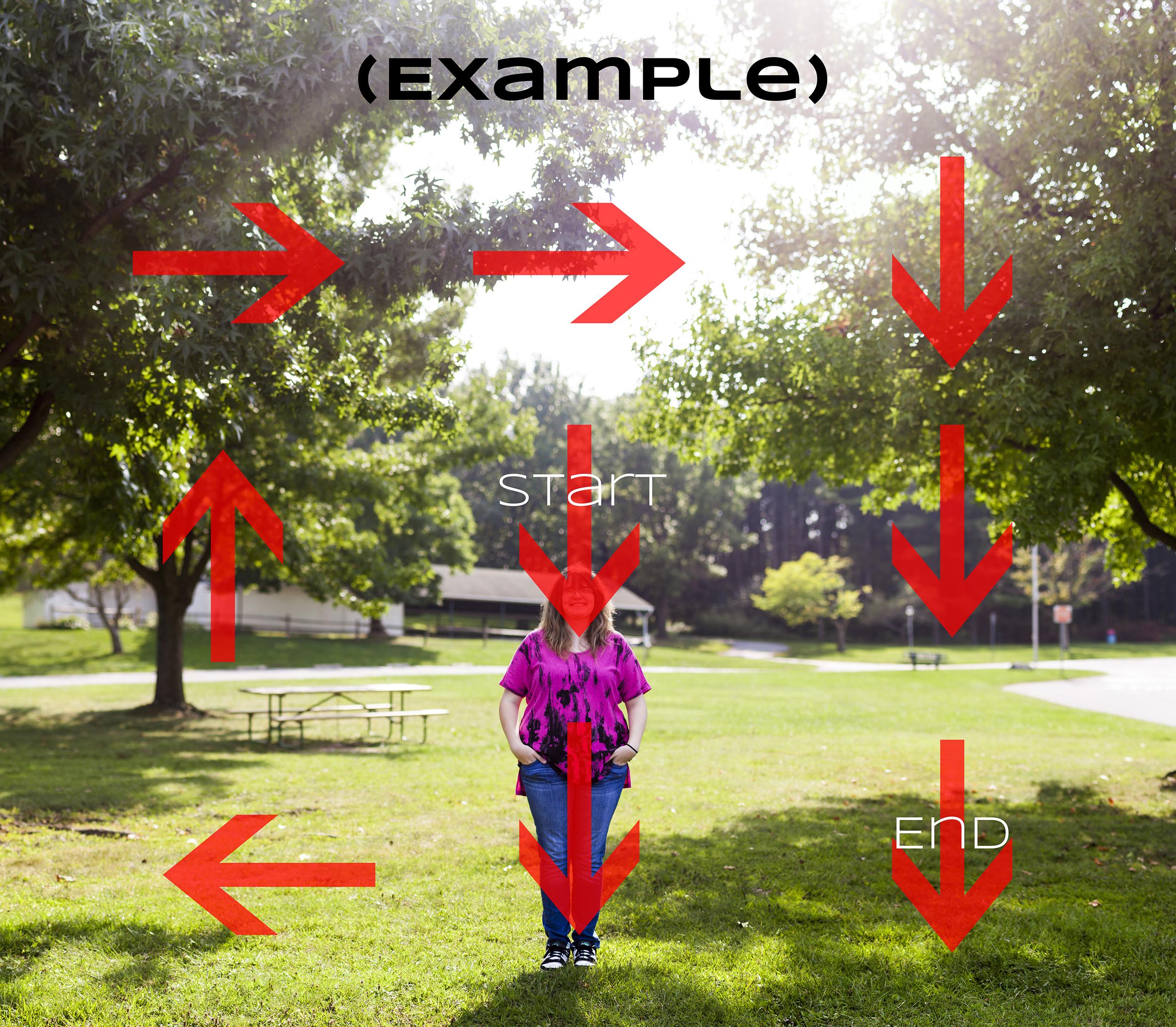 Bokeh Panorama Brenizer Method Pattern