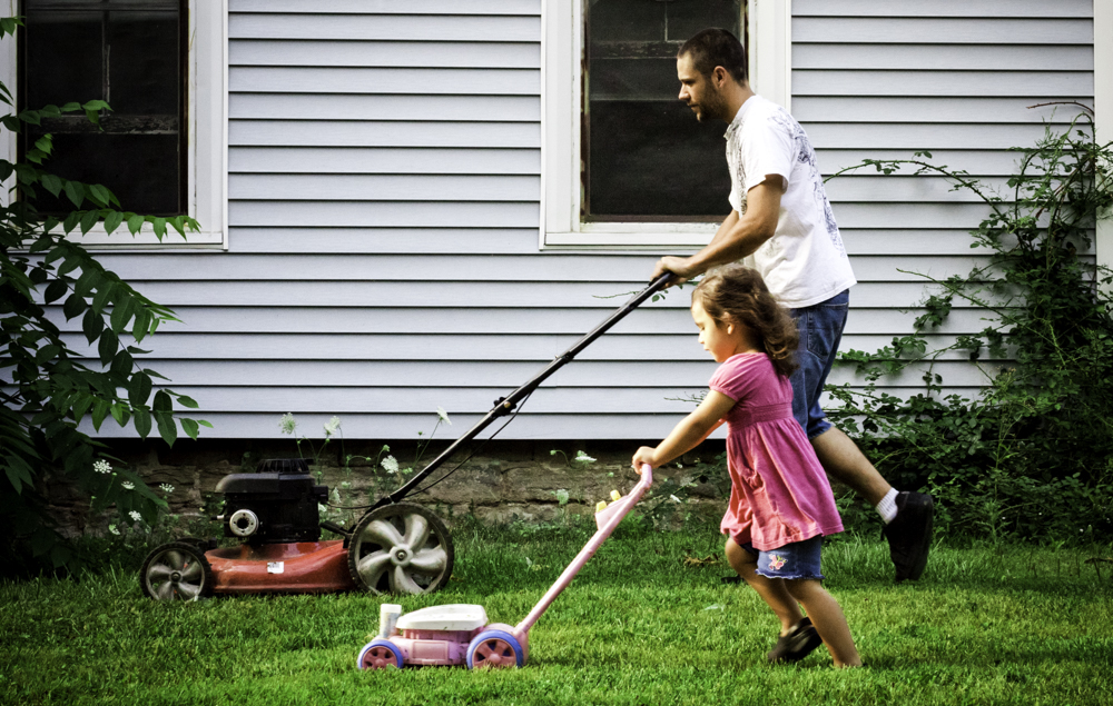 How Going For A Walk Bolsters Creativity Cute Kid Lawn Mowing