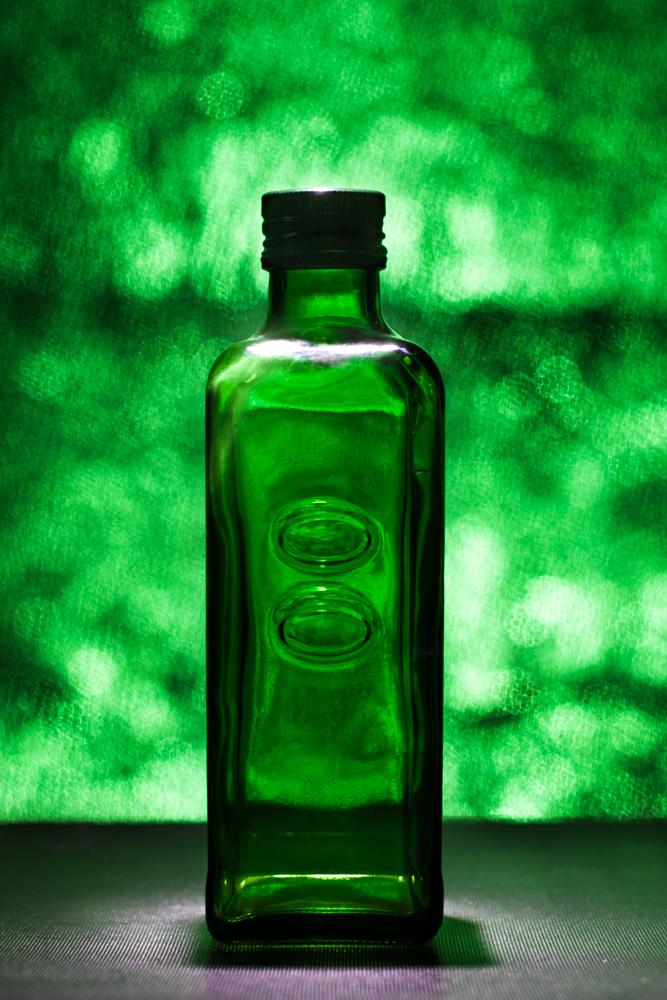 Write Lighting Green Bottle Bokeh Product Photography.jpg