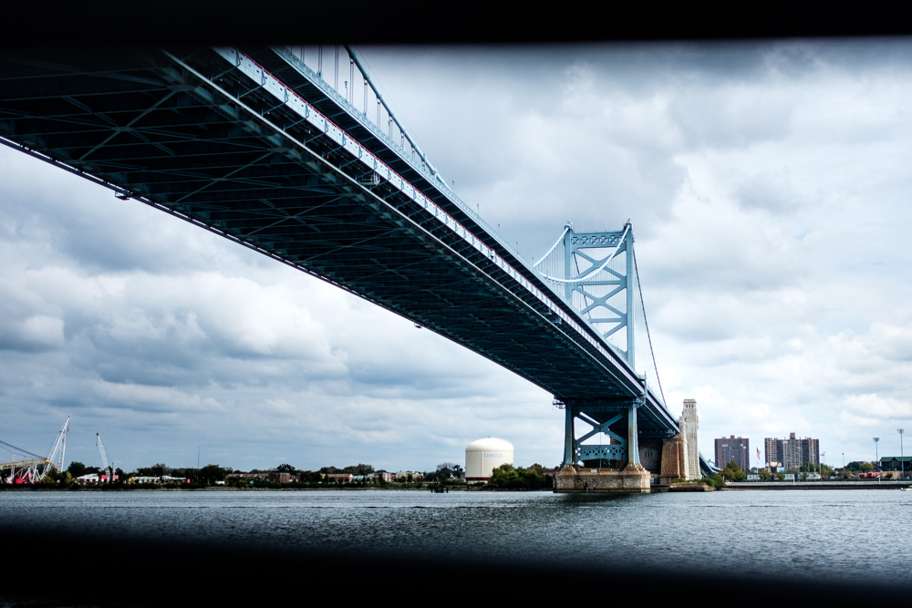 Write Lighting Ben Franklin Bridge Philly PA Urban Landscape Photography.jpg