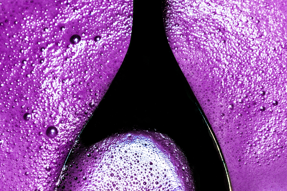 Write Lighting Purple Abstract Spoon Liquid Bubbles.jpg