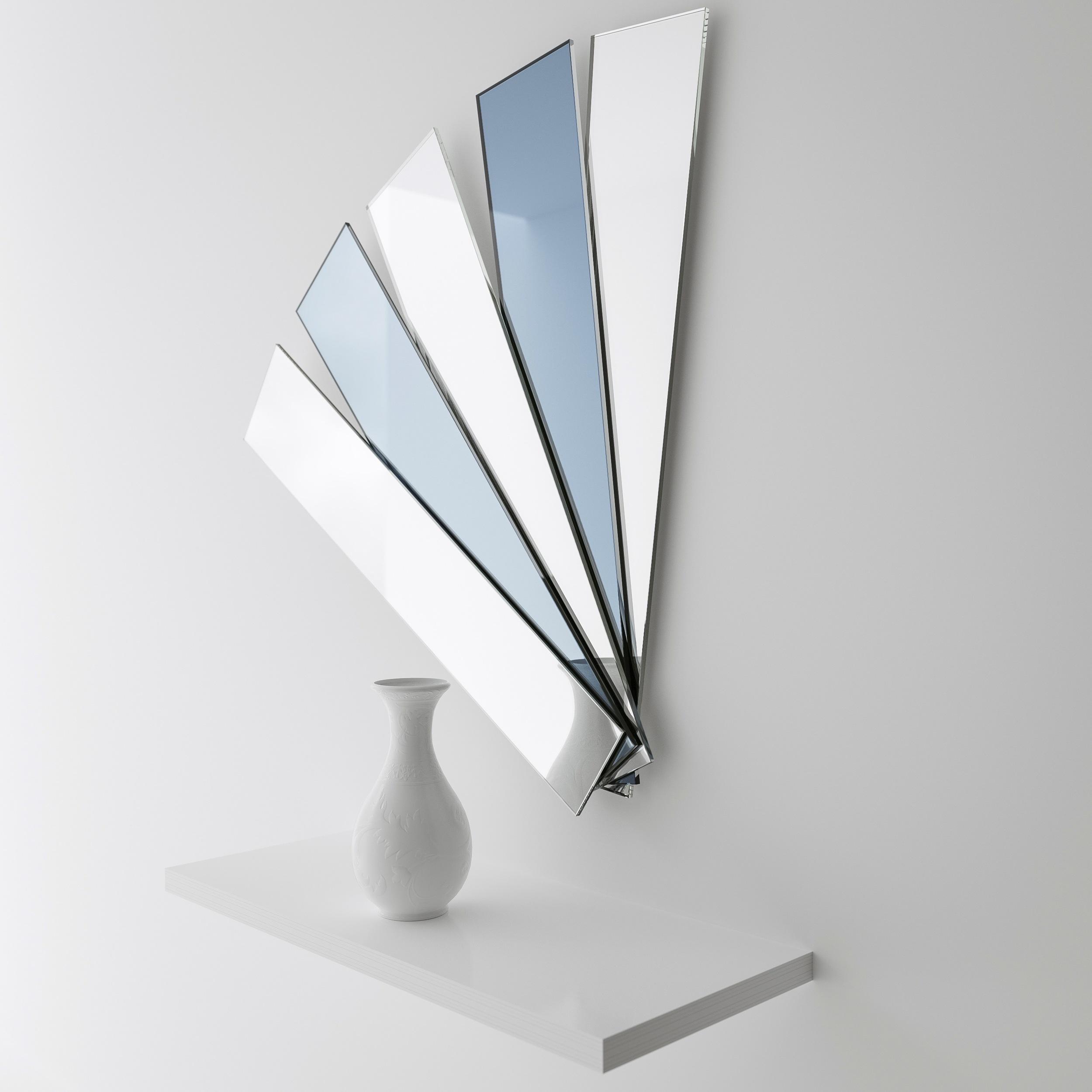 Deco mirror photographed at Color & Mirror studio