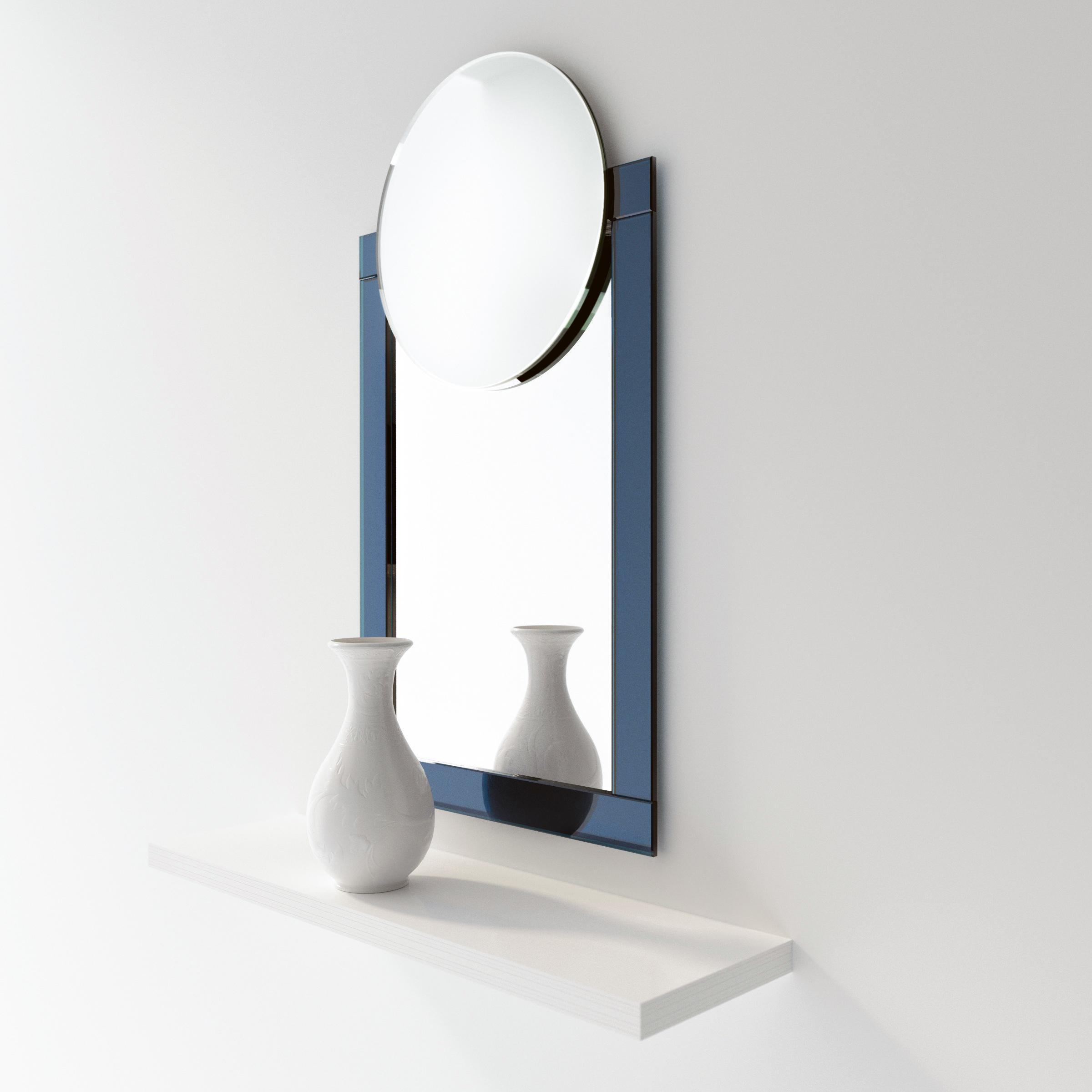 Machine Age Blue Glass Art Deco Mirror.jpg