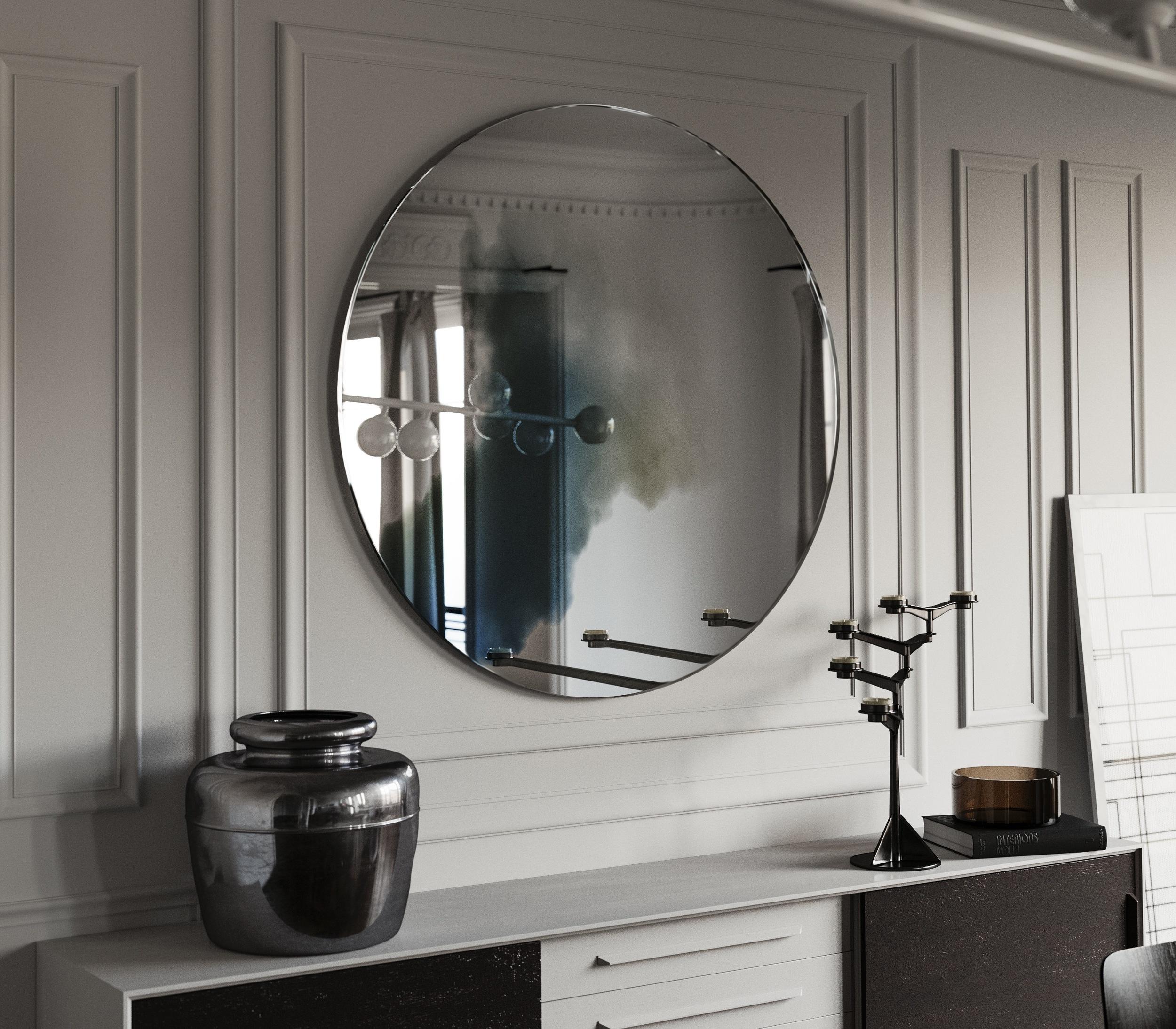 Hand made wall mirror