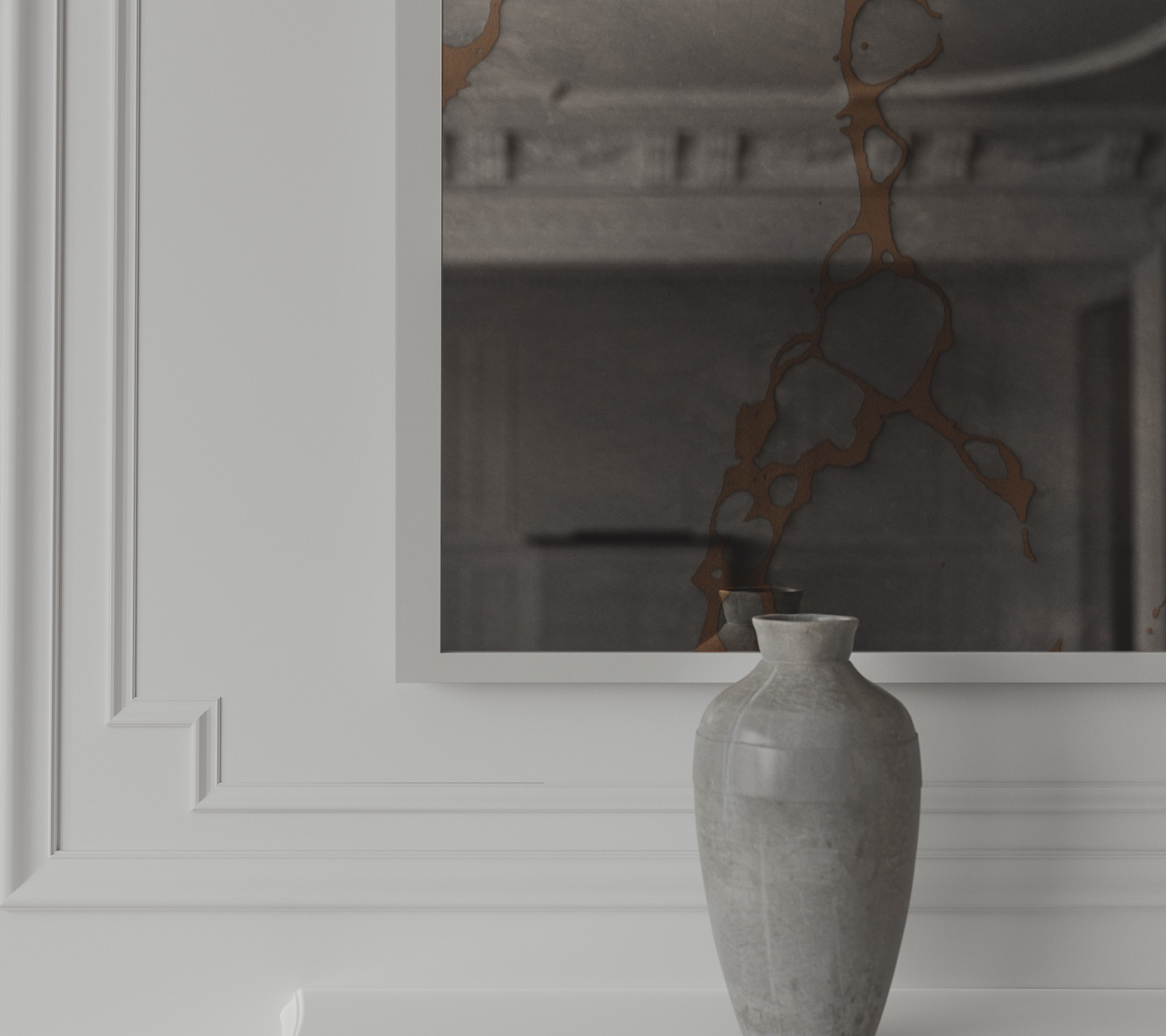Detailed Wall Mirror