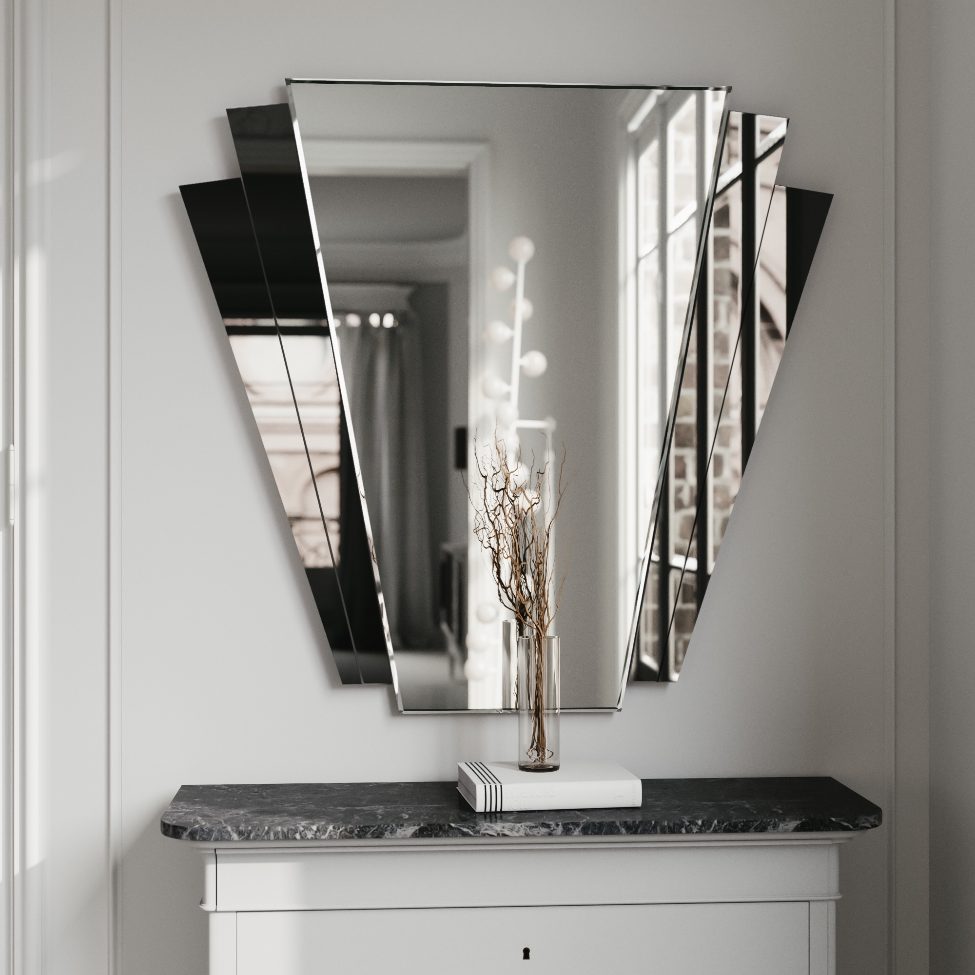 Fantail Wall Mirror by Color & Mirror