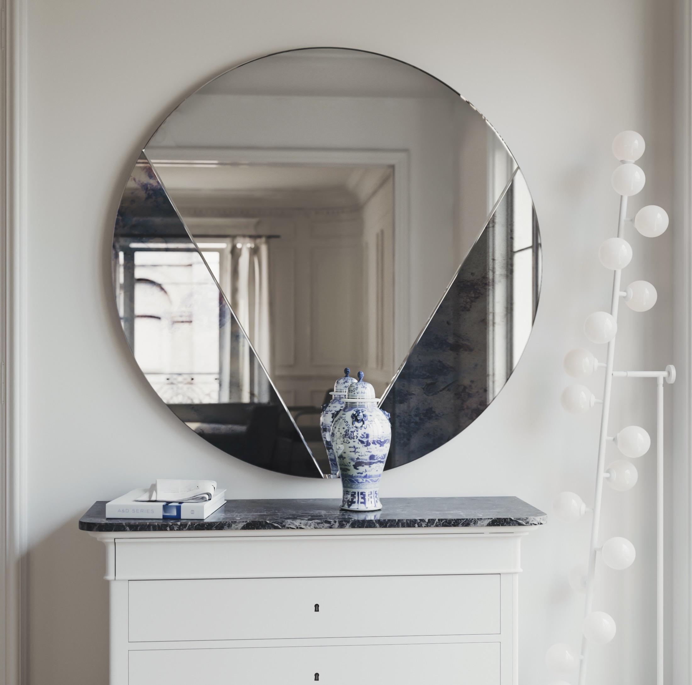 Petal Style Wall Mirror